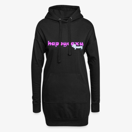 Happy Daxy Pink by Sue Anderson - Hoodie Dress