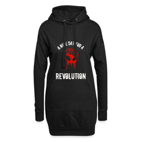 a nice day for a revolution - Hoodie Dress