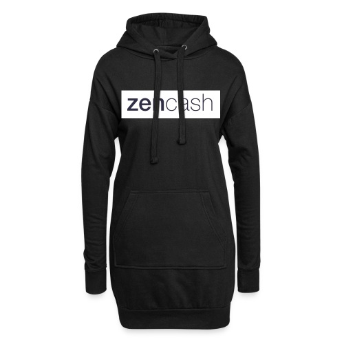 ZenCash CMYK_Horiz - Full - Hoodie Dress