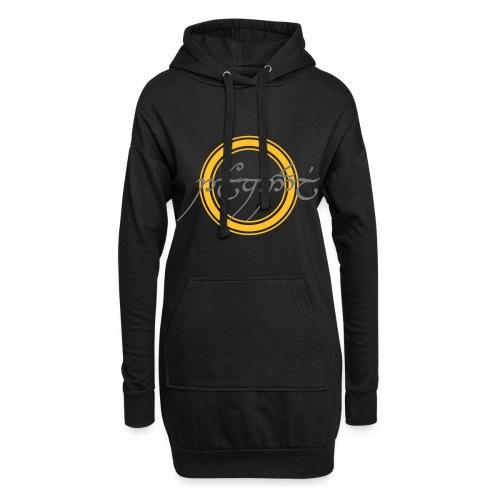 Tolkiendil Cercle 2 - Sweat-shirt à capuche long Femme