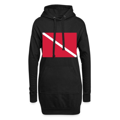Diver Flag - Hoodie Dress