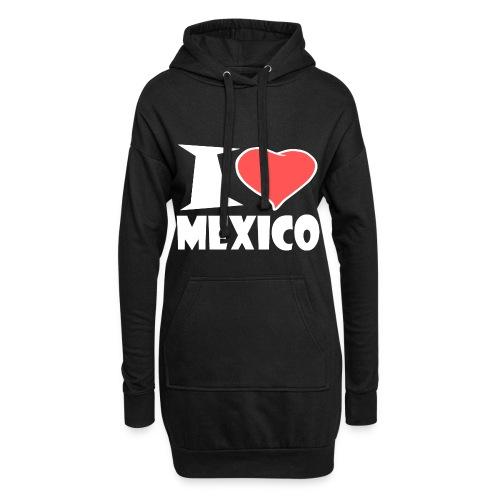 I love Mexico - Hoodie-Kleid