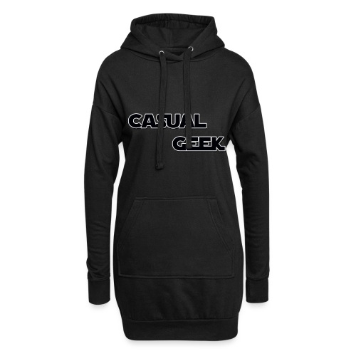 CasualGeek Standard Logo - Hoodie Dress