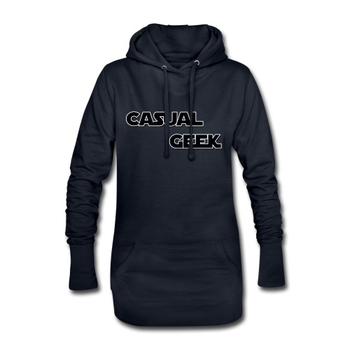 CasualGeek Standard Logo - Hoodie Dress