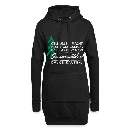 T-Shirt Spruch Geld Schwa - Hoodie-Kleid