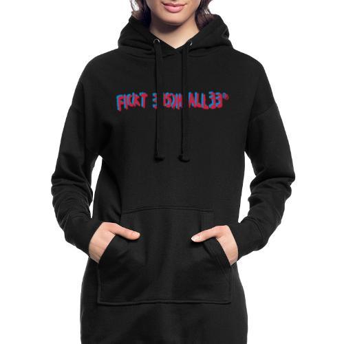 Fickt Eusch Allee - Sweat-shirt à capuche long Femme