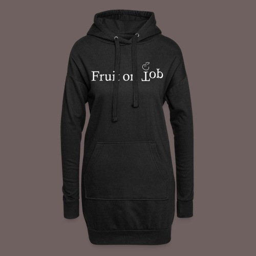 GBIGBO zjebeezjeboo - Fleur - Fruit [FlexPrint] - Sweat-shirt à capuche long Femme
