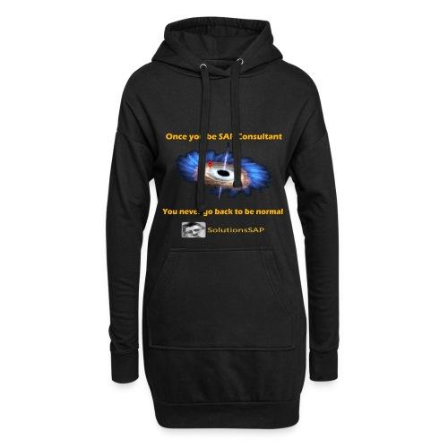 Black Hole - Sudadera vestido con capucha