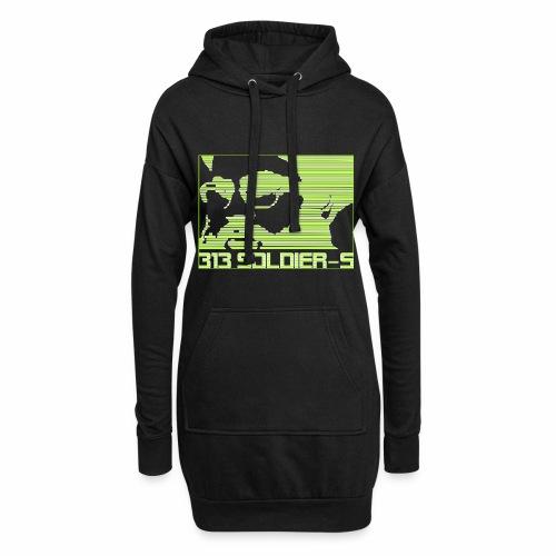 313 SOLDIERS - Hoodie-Kleid