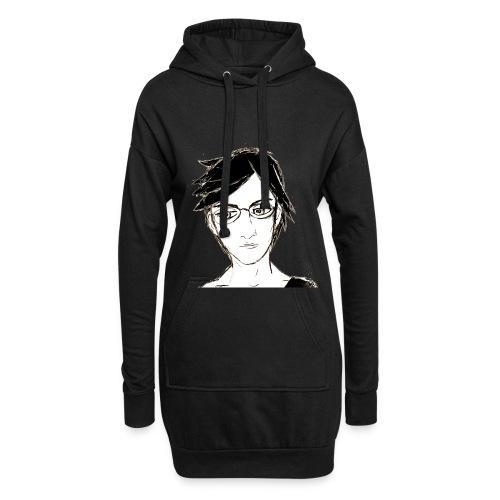 intelectual - Sudadera vestido con capucha