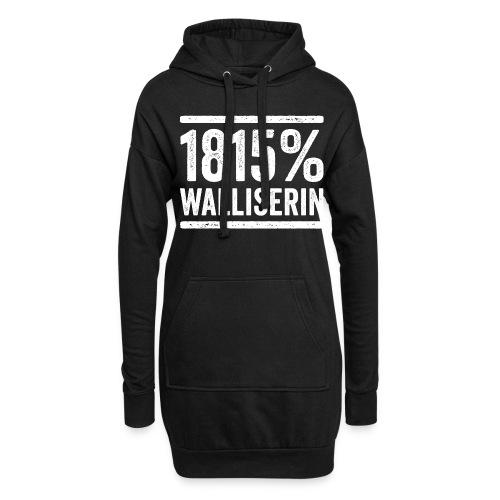 1815% WALLISERIN - Hoodie-Kleid