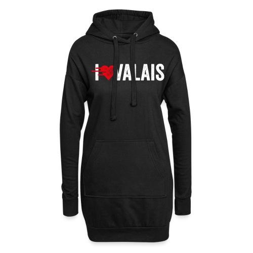I LOVE VALAIS - Hoodie-Kleid