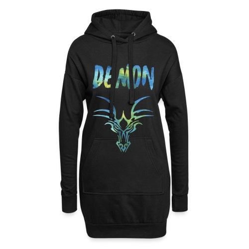Demon - Drachen - Hoodie-Kleid