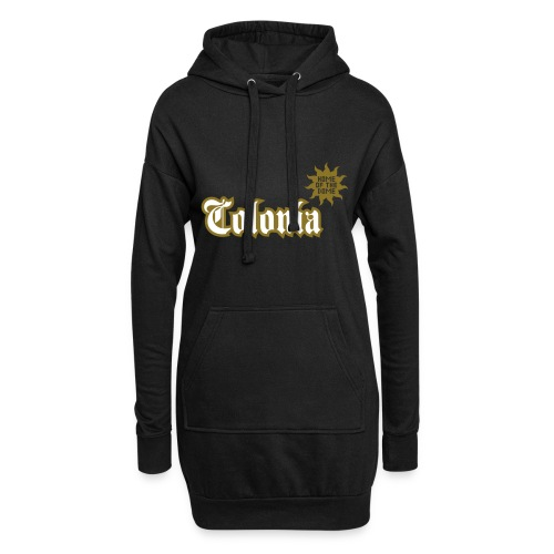 Colonia (Home of the dome) - Hoodie-Kleid