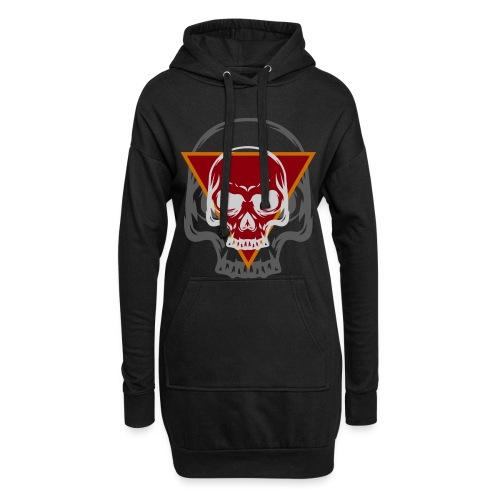 Schädel Skull Skulls Geschenkidee Totenkopf - Hoodie-Kleid