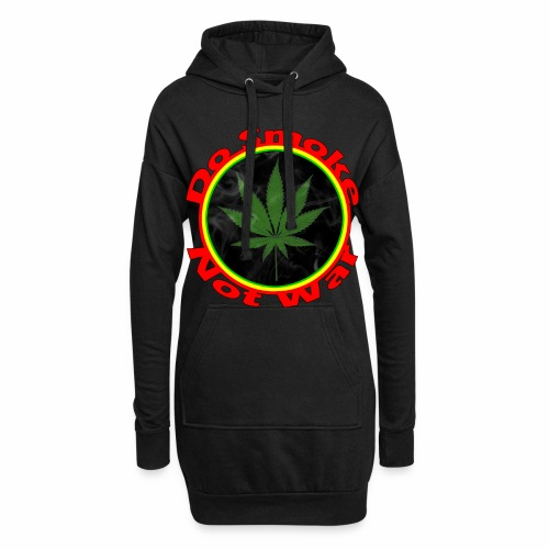 Do Smoke Not War - Hoodie-Kleid