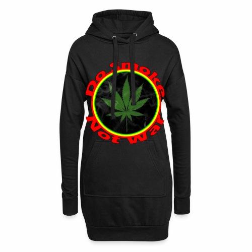 Do Smoke Not War - Hoodie-Kleid