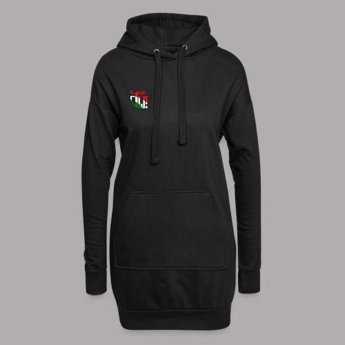 Zirkel r w g (vorne) - Hoodie-Kleid