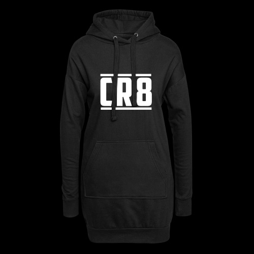 CR8 Hoodie - Black - Hoodie Dress