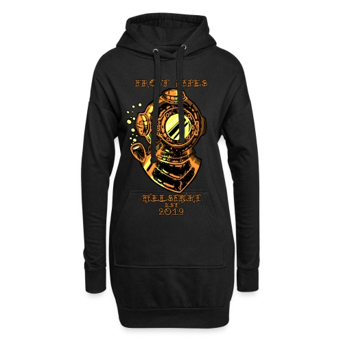 Brass Nautical Piper LIMITED EDITION - Hoodie Dress