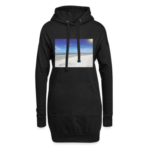 The Beach- La plage - Sweat-shirt à capuche long Femme