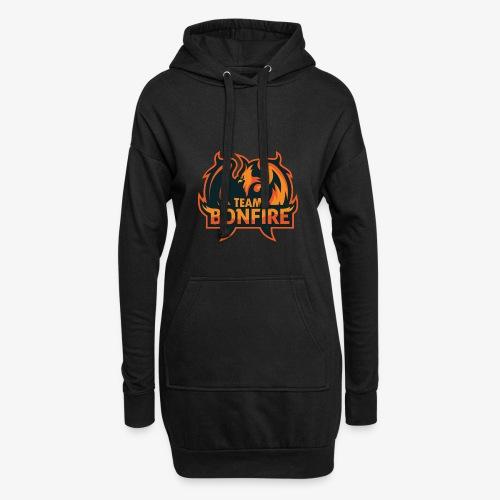 NewTeamBonfire - Hoodie-Kleid