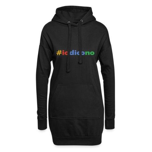 #iodicono - Vestitino con cappuccio