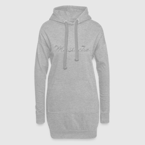 White Lettering - Hoodie Dress