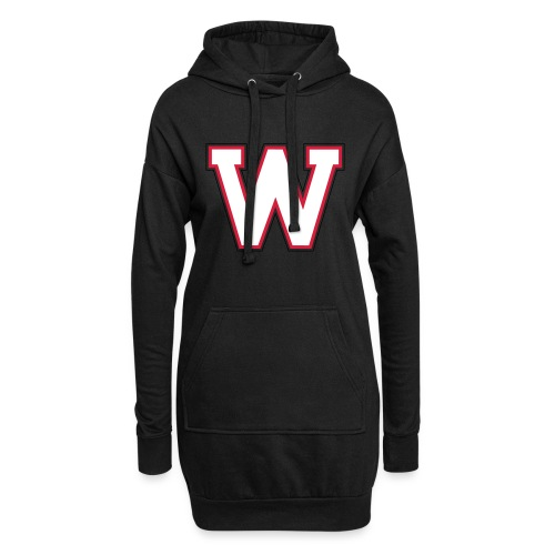 W-badge - Sweat-shirt à capuche long Femme