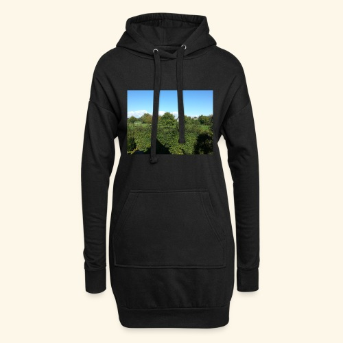 Jolie temps ensoleillé - Sweat-shirt à capuche long Femme