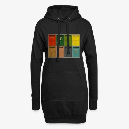 Briefkasten - Hoodie-Kleid