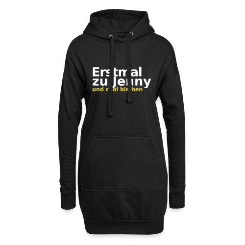 Erstmal zu Jenny - Hoodie-Kleid