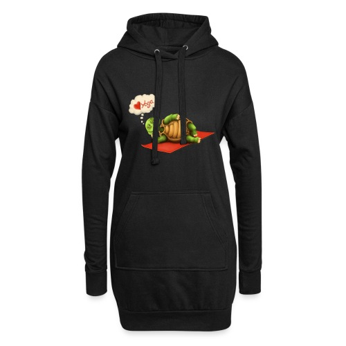 Love-Yoga Turtle - Hoodie-Kleid