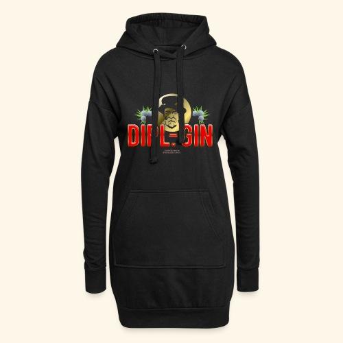 Gin T Shirt Design Dipl.-Gin - Hoodie-Kleid