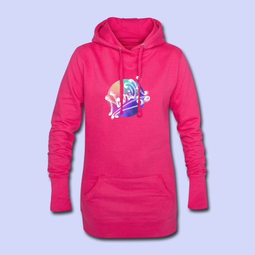 pastel rainbow, NuniDK Collection - Female top - Hoodie-kjole