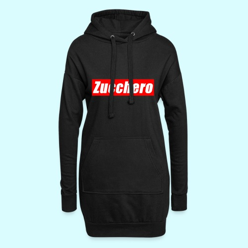 Zucchero Box Red - Hoodie Dress