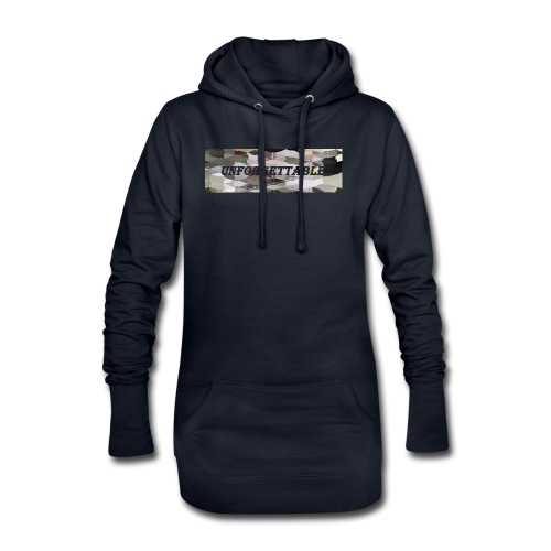unforgettable - Sweat-shirt à capuche long Femme