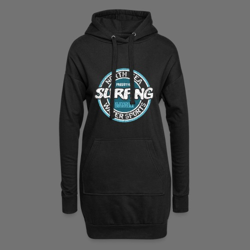 North Sea Surfing (oldstyle) - Hoodie Dress