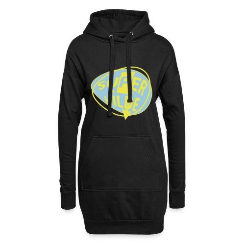 superhilde - Hoodie-Kleid