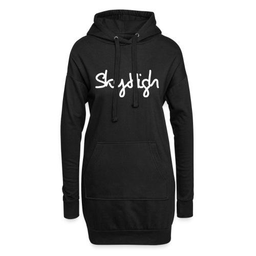 SkyHigh - Women's Hoodie - White Lettering - Hoodie Dress