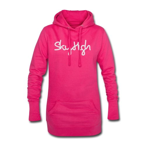 SkyHigh - Bella Women's Sweater - Light Gray - Hoodie Dress