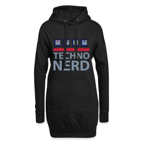 Techno Nerd - Hoodie Dress