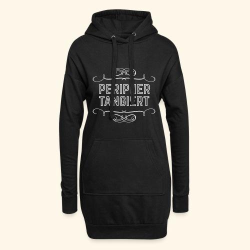 lustiges Sprüche-T-Shirt Peripher tangiert - Hoodie-Kleid
