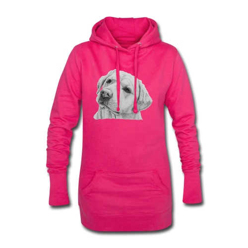 labrador retriever yellow - head - Hoodie-kjole