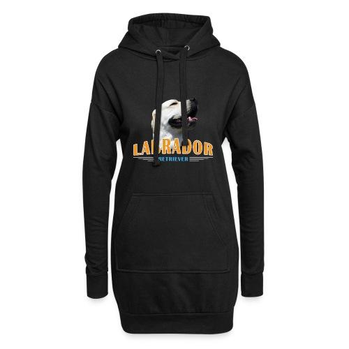 Labrador Tonko stolz - Hoodie-Kleid