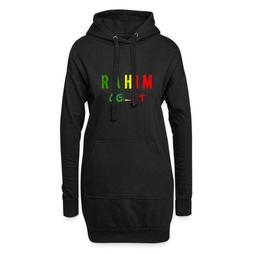 t-shirt design Rahim - Sweat-shirt à capuche long Femme