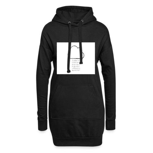 binary - Hoodie Dress