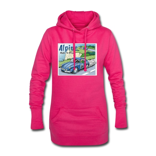 Polete en Alpine 106 - Sweat-shirt à capuche long Femme