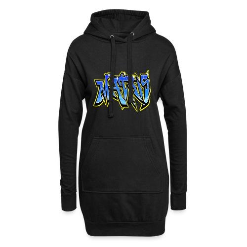Graffiti Mathis - Sweat-shirt à capuche long Femme