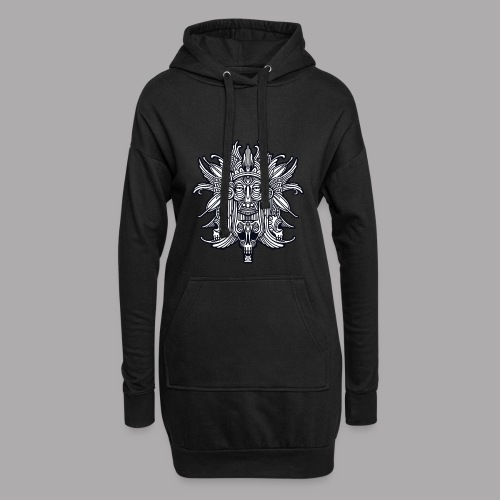 ritual black - Hoodie Dress